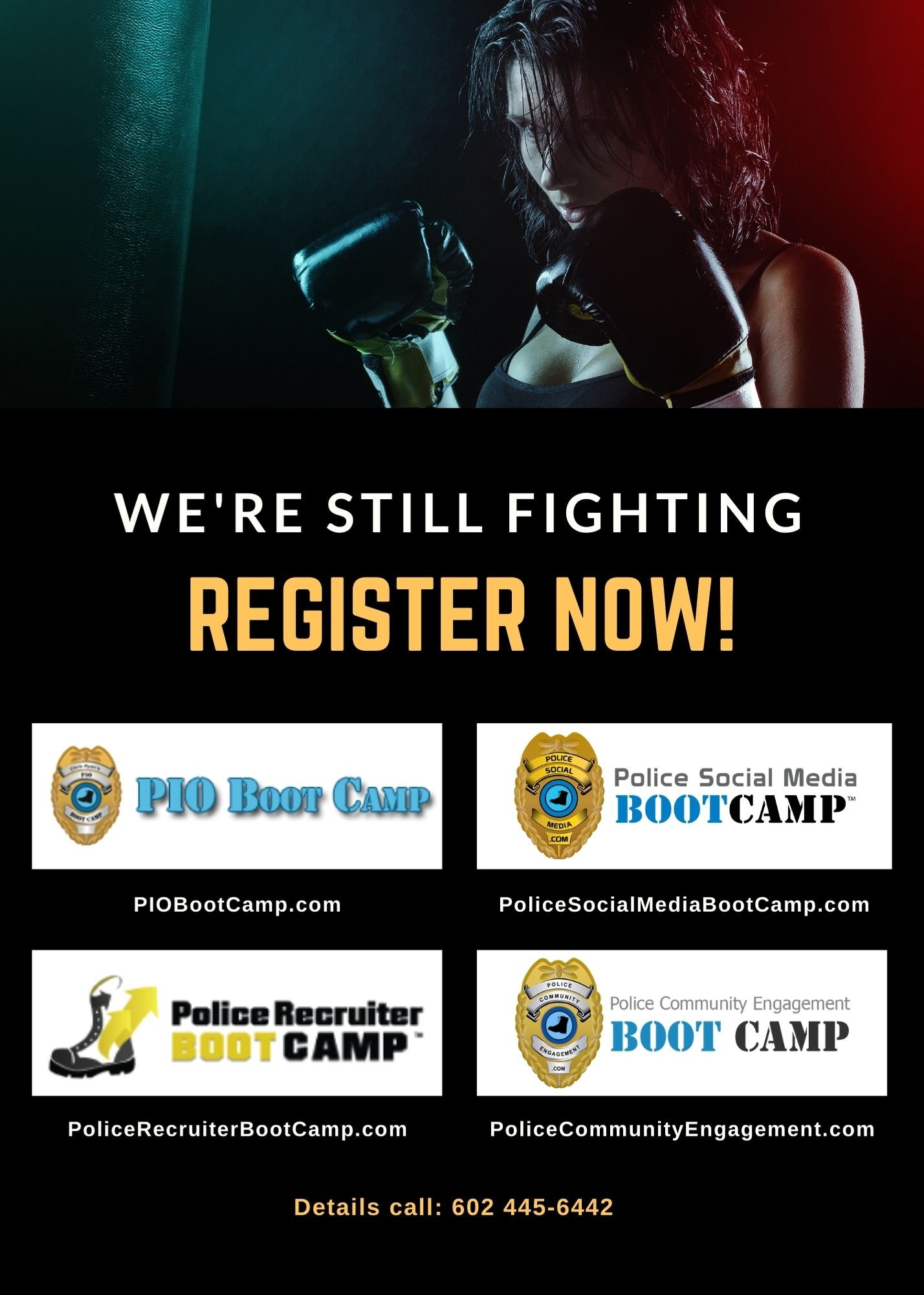 We're Still Fighting - Police Community Engagement